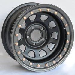 Llanta Four wheeler Beadlock SIMULADO 8x17 (Toyota Hilux 05- y LJ 120 / 150)