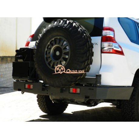 Parachoques Trasero AFN Toyota LC J150 doble soporte