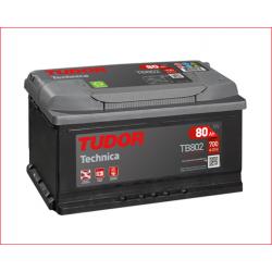 Batería Tudor Technica 80Ah