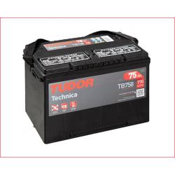 Batería Tudor Technica 75Ah