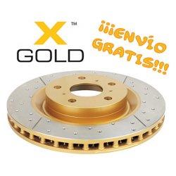 Disco de Freno Delantero DBA Rayado y Perforado T. Hilux Vigo 4x2 (05-2007)
