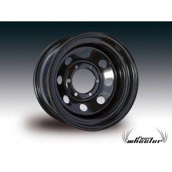 Llanta FW Acero Modular Negra 7x16 Offset 0 Anclaje 5x165,1
